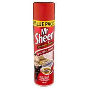 Mr Sheen Surface Cleaner Spray Regular 400g