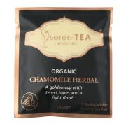 Serenitea Infusions Organic Chamomile Enveloped Pyramid Tea Bags Pack 100