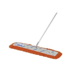 Floormaster Dust Control Mop W/Handle 91cm Orange