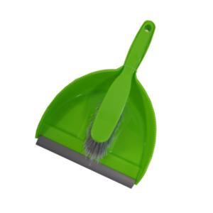 Sabco Dustpan Brush Set Green