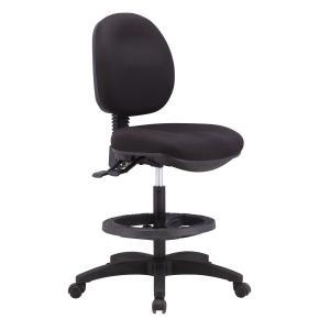 Staples Calor Medium Back Drafting Chair Black Staples