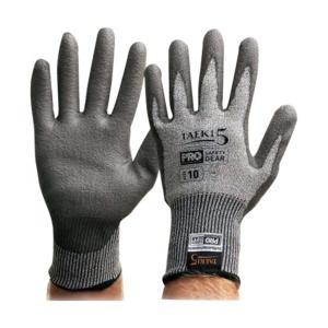 Paramount Safety T5Pud-8 Taeki 5 Gloves Synthetic Pu Coated Palm Dip Pair