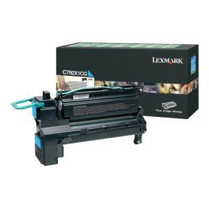 Lexmark C792X1CG Cyan Toner Cartridge