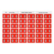 Avery 0 Side Tab Colour Coding Labels for Lateral Filing - 25 x 38mm - Pink - 180 Labels
