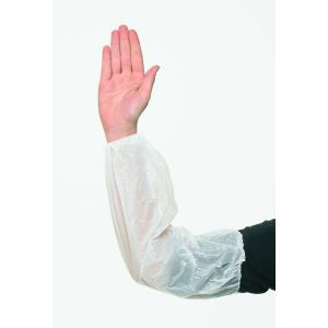 Safechoice Disposable Polyethylene Sleeves 200X400mm Transparent White Carton 2000