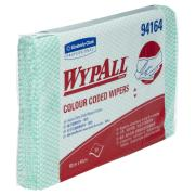 Wypall 94164 Green Colour Coded Heavy Duty Cloth Pack of 20 Wipers