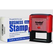 Trodat Printy DIY No.4 Business Stamp Kit Self-Inking Stamp