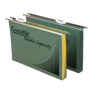 Crystalfile Double Capacity Suspension File Box 10