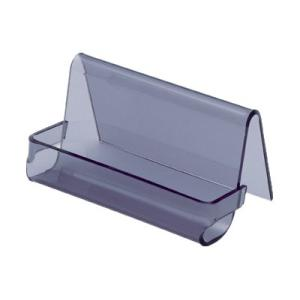 Esselte Avante Business Card Holder 40 Card Capacity Smoke