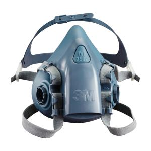 3m 7503 Silicon Drop Down 1/2 Face Respirator Size Large