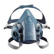 3M 7503 Silicon Drop Down Half Face Respirator Size Large