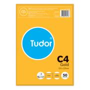 Tudor Envelopes Peel-N-Seal C4 324X229mm Gold Pack 50