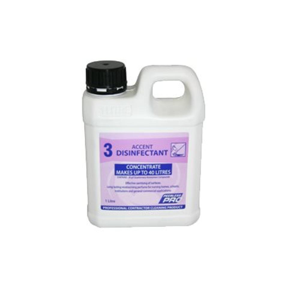 Peerless Accent Musk Disinfectant 1Litre With Product Inside Bottle