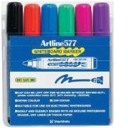 Artline 577 Whiteboard Marker Bullet Set 6