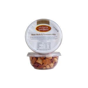 Victoria Gardens Beer Nut & Cracker Mix 60g Tub Carton 24