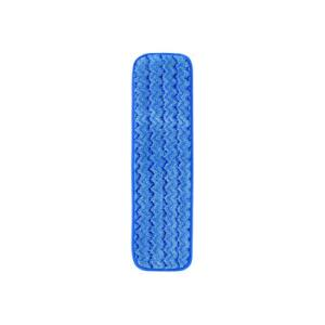 Rubbermaid 45cm Q410 Microfibre Damp Mop Blue