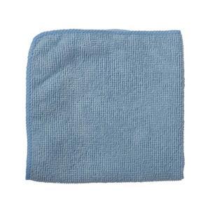 Rubbermaid Commercial 40cm X 40cm Microfibre Light Duty Cloth Blue