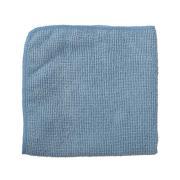 Rubbermaid Commercial 400 x 400mm Microfibre Light Duty Cloth Blue