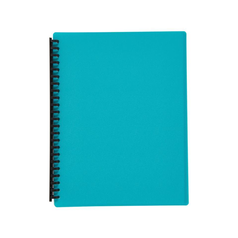 Winc Display Book Refillable A4 40 Pocket Green