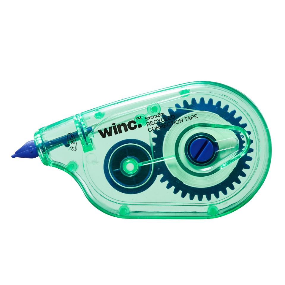 Winc Correction Tape Recycled 5mmx8m Dual Angle