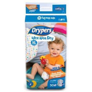 Drypers XL Walker Nappies 3X50 G11