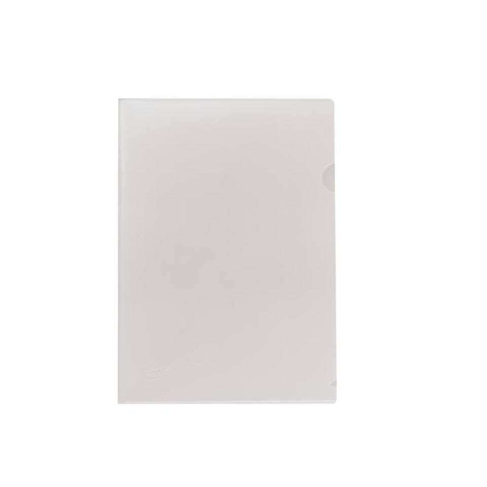 BTS Staples Letter File A4 Open 2 Sides Clear