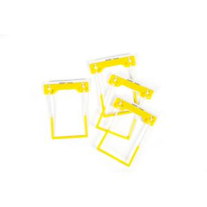 Avery Yellow Tubeclip File Fastener 3 Piece Set - 500 Per Pack