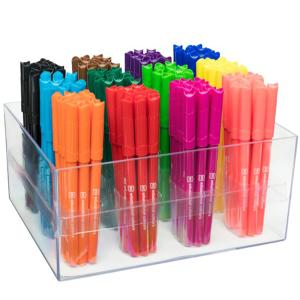 Ec Master Markers 2.6mm Tip Assorted Colours Pack Of 144