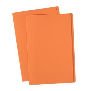 Olympic Manilla Folder Foolscap Orange Box 100