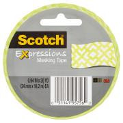 Scotch Expressions Masking Tape 24mm X 18.2m