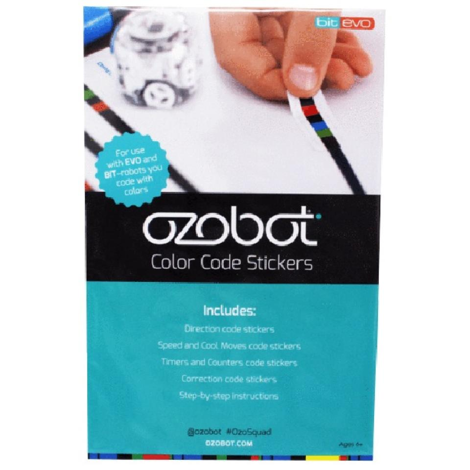 Steam Ozobot Colour Code Stickers Pack Of 160
