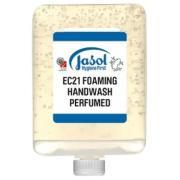 Jasol Brightwell 2073863 Ec21 Foaming Hand Wash Yellow 6 X 1 Litre Cartridges