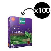 Dilmah Black Extra Strength Tea Bags Pack 100