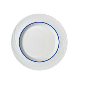 Schonwald Donna Senior Flat Plate 16cm Dark Blue Line Box 12