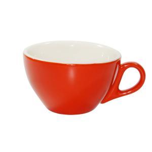 Brew Cappuccino Cup 220ml Chilli/White Box 6