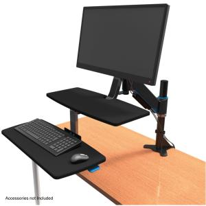 Kensington SmartFit Sit Stand Workstation 840l x 210wmm Black