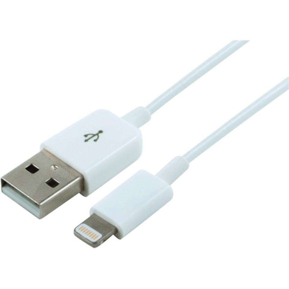 Comsol Klik Apple Lightning to USB Charge & Sync Cable 1.2 m White