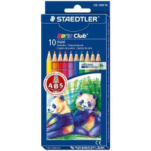 Staedtler Maxi Learner Pencils Assorted Pkt 10