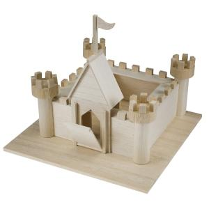 Steam Learning With Balsa Castle Wood Models