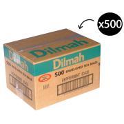 Dilmah Enveloped Tea Bags Peppermint Carton 500