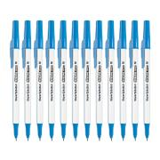 PaperMate Kilometrico Ballpoint Pen Medium 1.0mm Blue Box 12