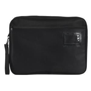 Marbig Convention Satchel Expanding Zipped Fabric Black