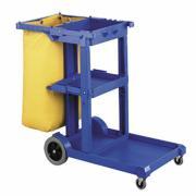 Oates Jc-175Bl Janitor Cart Mark Ii