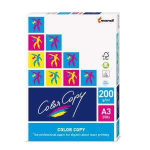 Mondi Colour Copy Paper A3 200gsm White Pack 250