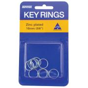 49662 Kevron Id1040 Key Rings 16mm Pack10