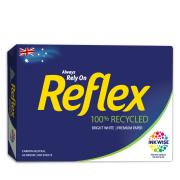 Reflex Carbon Neutral 100% Recycled Copy Paper A4 80gsm White Ream 500