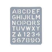 Esselte Lettering Stencil 75mm