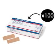 Coverplast S72601-03 Fabric Strips Pack 100