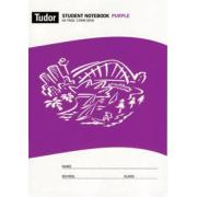 Tudor 64 Pages Grid And Graph Quad Purple 10mm