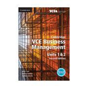 Cambridge VCE Business Management Units 1 & 2 Julie Cain Et Al